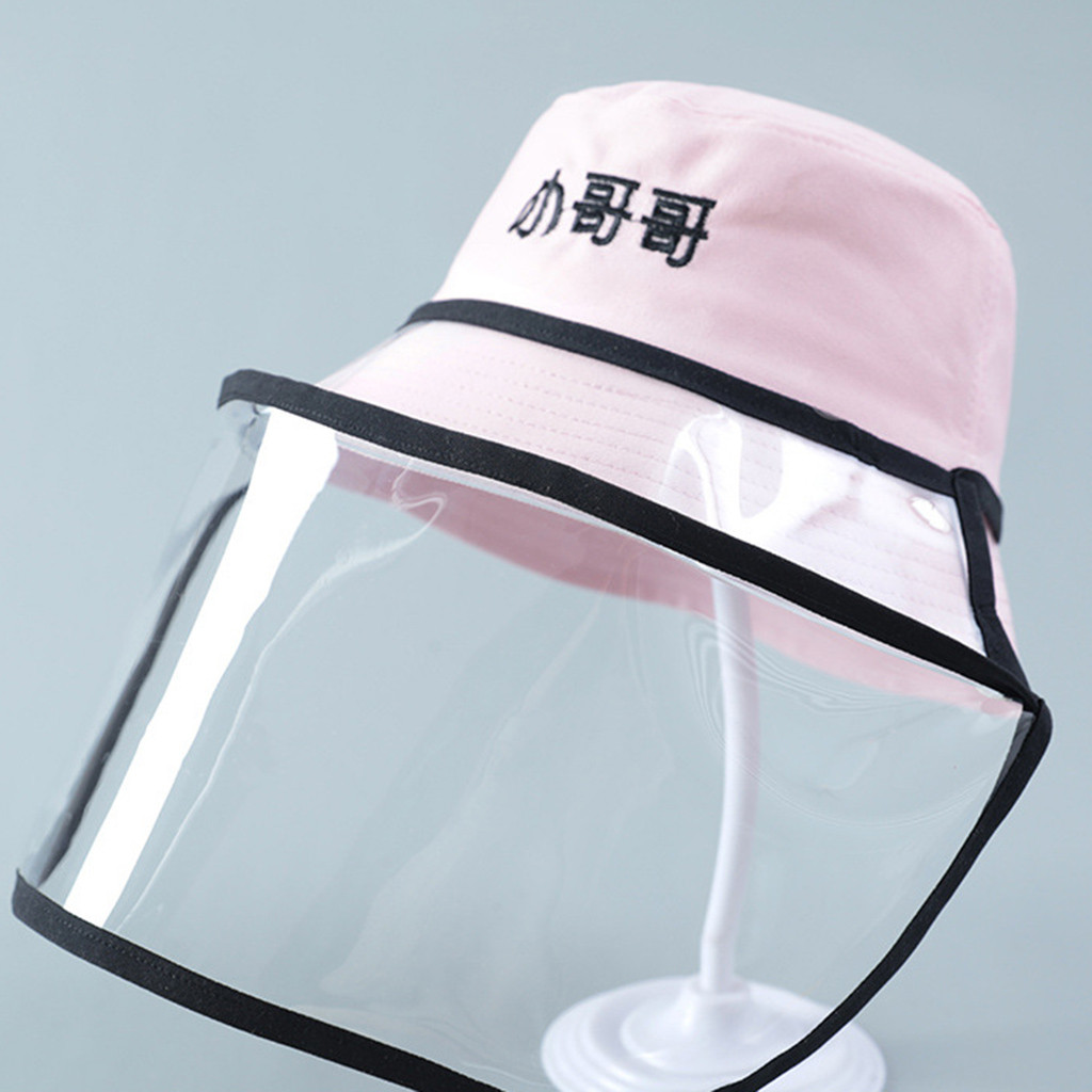 New Anti-spitting Protective Hat Dustproof Cover Kids Fisherman Cap Effectively isolates saliva carrying viruses In stock #3(China)