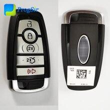 Оригинальный 902 МГц 5 кнопочный умный БЕСКЛЮЧЕВОЙ пульт дистанционного управления с чипом Hitag Pro ID 49 для Ford Fusion F150 2015 +