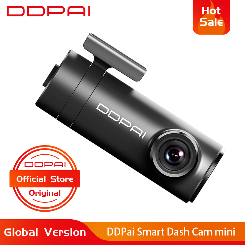 Ddpai Mini DVR Cam-Camera Body-Power-Interface Dash Front-Record 1080P English Efficient