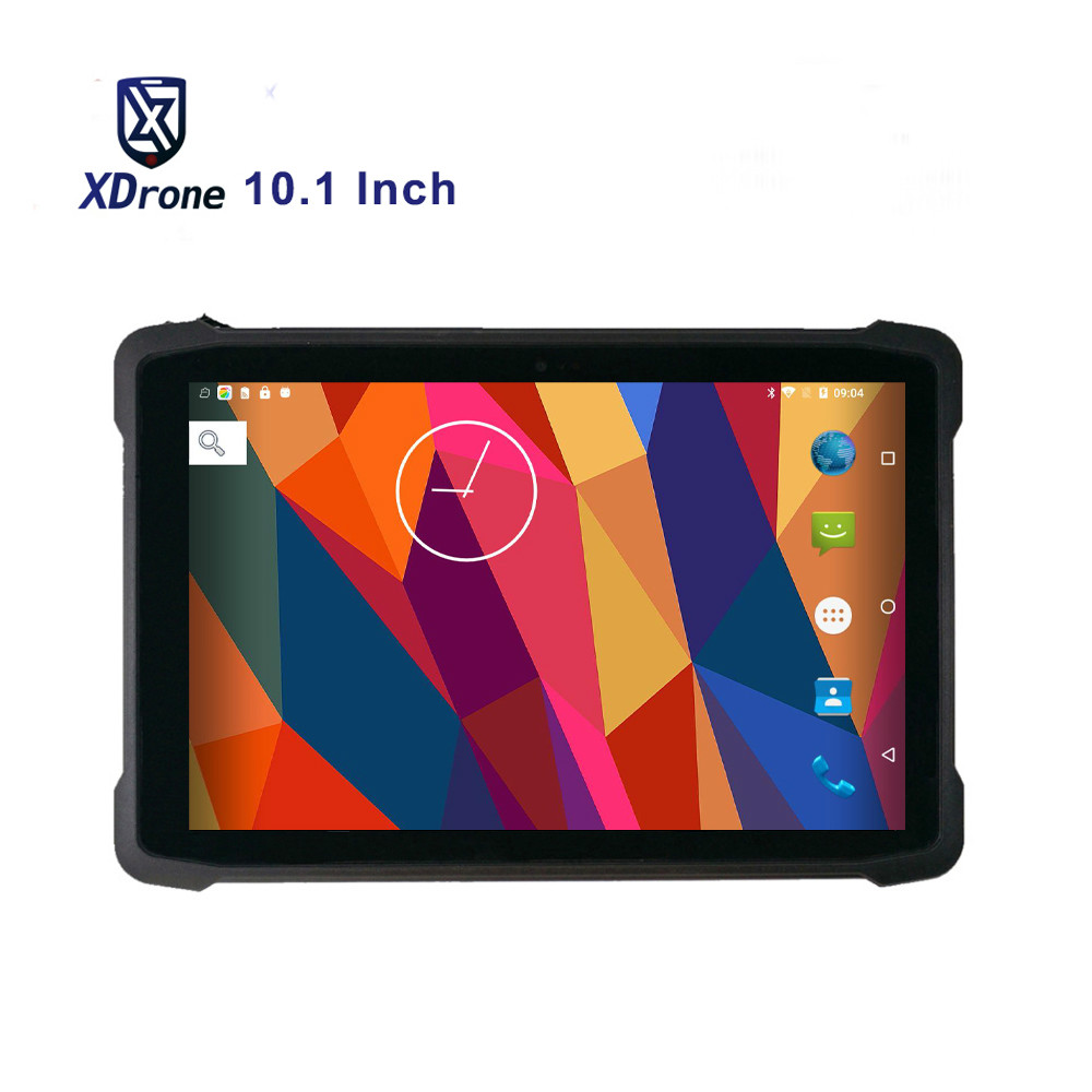 "Original KT11 Rugged Android Tablet PC Military 10.1"" Netbook IP67 Waterproof 4G Lte 2 in 1 Tablet GPS Handheld Pos 2D Scanner"