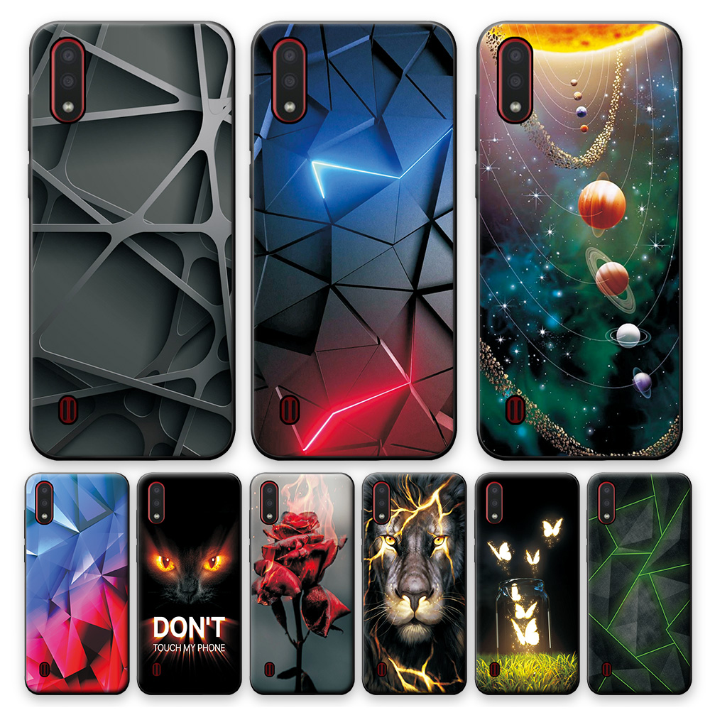 Case For Samsung Galaxy A01 Case A01 Bumper 5.7inch Soft Silicon Back Cover Phone Case For Samsung A01 GalaxyA01 A 01 A015 Coque