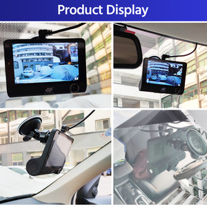 Image 4 - E ACE B28 جهاز تسجيل فيديو رقمي للسيارات داش كام 4.0 بوصة مسجل فيديو كاميرا السيارات 3 عدسة الكاميرا مع كاميرا الرؤية الخلفية المسجل داشكام DVRs