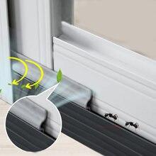 1 ~ 8M Selbst-adhesive Fenster Abdichtung Streifen Tür Lärm Isolierung Schaum Abstauben Abdichtung Band Fenster Zubehör