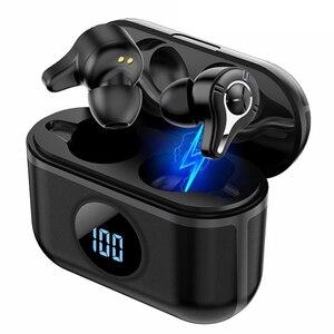 Image 1 - SE 16 TWS Bluetooth Earbuds V5.0 Wireless Sport Fashion IP67 Waterproof HD Stereo Noise Canceling LED Digital Display Earphones
