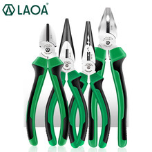 LAOA Multifunction Cutting Pliers Long Nose Pliers Diagonal cable Pliers Sets(China)