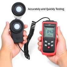 TASI портативный мини ЖК-люминометр цифровой фотометр люксметр светильник 0-199999 Люкс Освещенность метр Цифровой Люкс метр