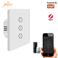 Jinvoo Zigbee Curtain Switch for Roller Shutter Electric motor Google Home Alexa Echo Voice Control DIY Smart Home power by Tuya