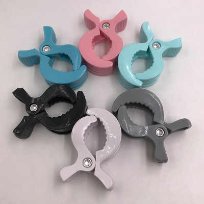 1PC Baby Car Seat Accessories Colorful Plastic Pushchair Toy Clip Pram Stroller Peg To Hook Blanket Clips Clothes Pegs