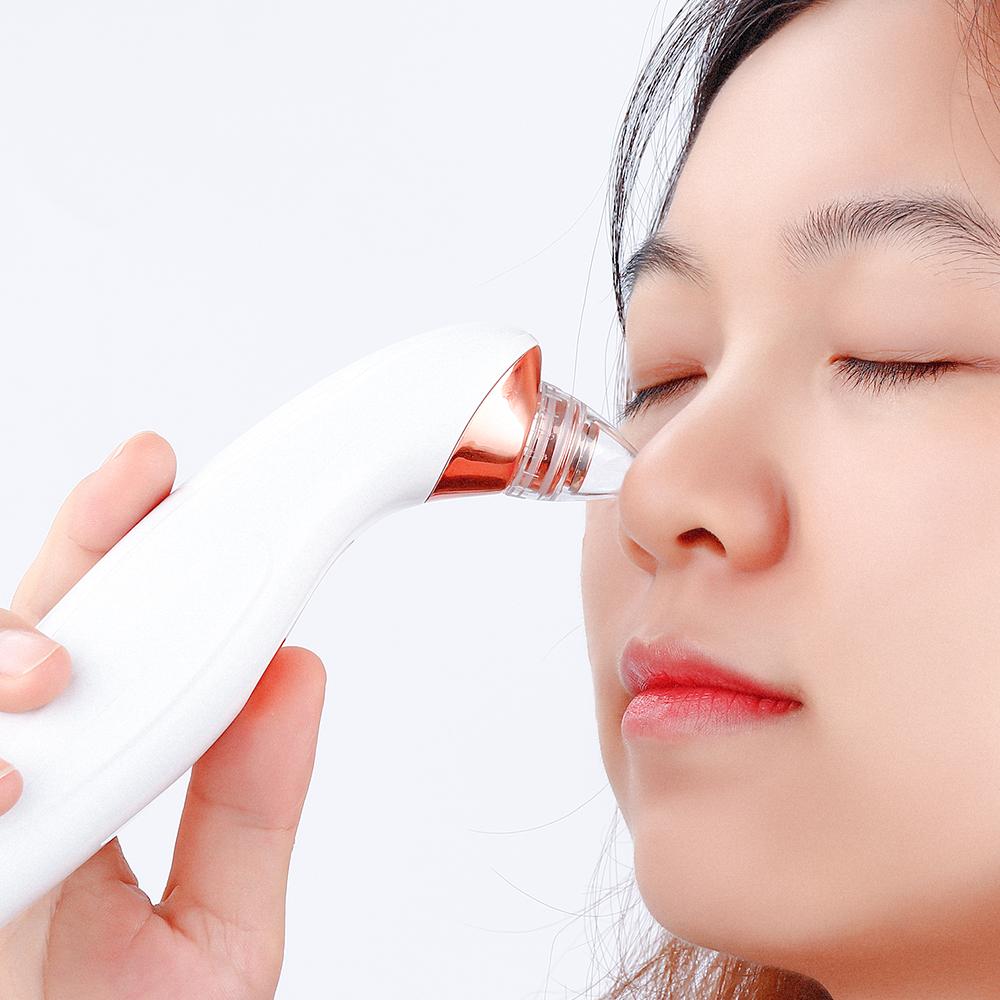 Electric Vacuum Pore Cleaner Blackhead Vacuum Suction Pimple Acne Face Nose Deep Pore Clean Exfoliating Cleansing Care Tools