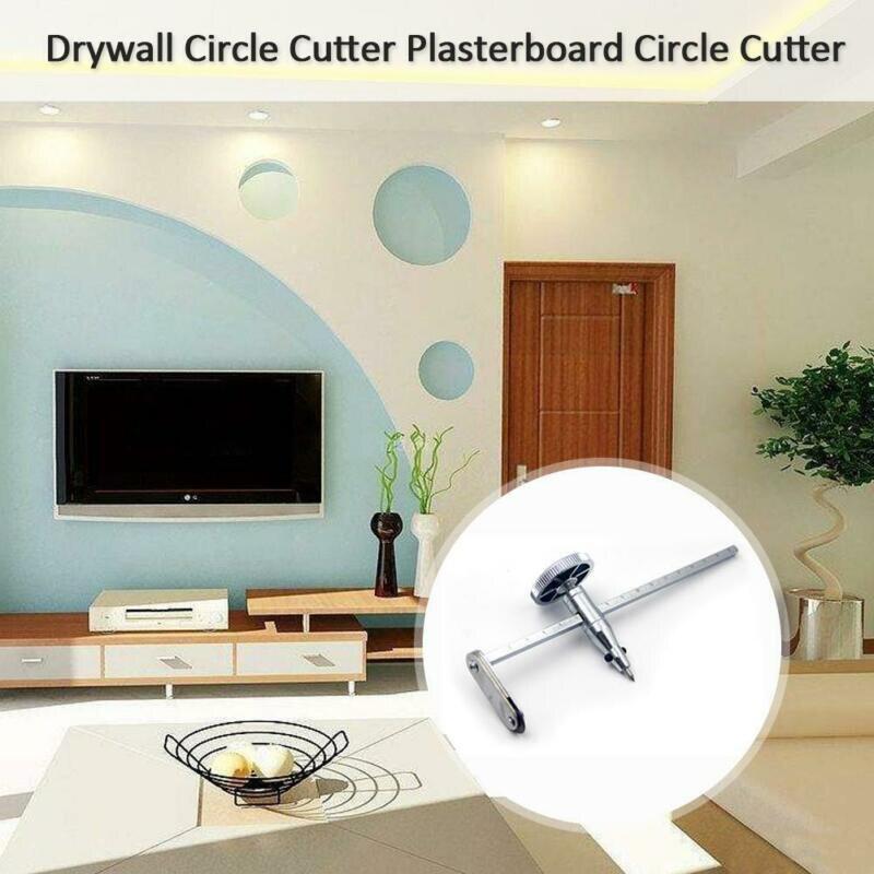 Circular Circle Hole Cutter Plasterboard Accessories Workshop Drywall Gypsum Board Cutting Adjustable Circle Hole DIY Tool