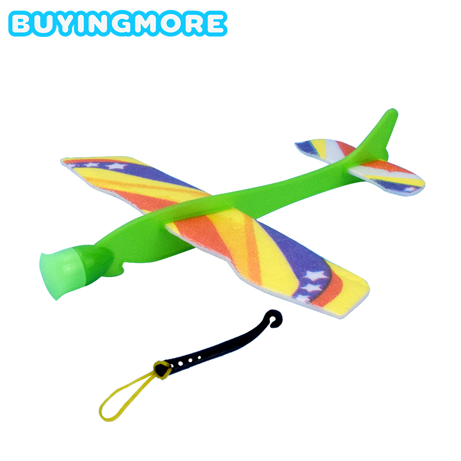 Ejection Cyclotron Slingshot Aircraft Model Kits Catapult Light Plane Toys For Children Science DIY Assembly Creative Toy Gifts