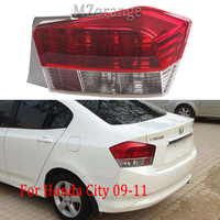 MZORANGE Rear Tail Light taillights assembly Replacement Brake Light Lamp Warning For HONDA ACCORD CITY 2009 2010 2011