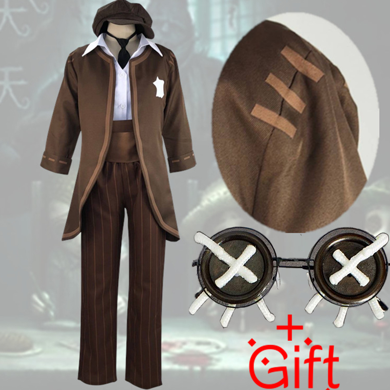 Game Identity V Cosplay Costumes Thief Kreacher Pierson Cosplay Costume Uniform Halloween Carnival Party Cosplay Costume image