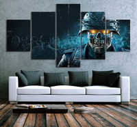HD Fantasy Art Zombie Horror Pictures Zombie Army 4 Dead War Video Games Art Wall Paintings Canvas Art for Room Wall Decor