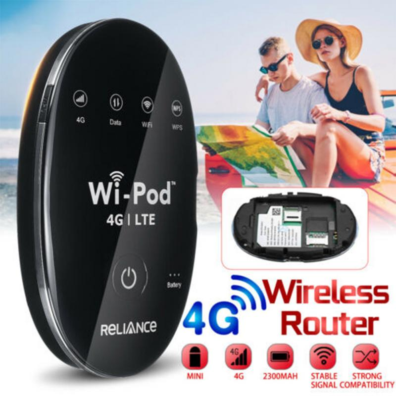 Portable USB Wingle LTE Universal 4G Wifi Mini Router Wireless Sim Card Slot For Car Home Mobile Travel Outdoor Camping