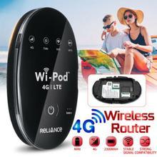 휴대용 USB Wingle LTE 범용 4G 와이파이 미니 라우터 무선 Sim 카드 슬롯 자동차 홈 모바일 여행 야외 캠핑