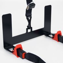 Universal Car Safety Seat Belt Mount Latch Bracket Child Seat Restraint Mounting Kit for ISOFIX Connector