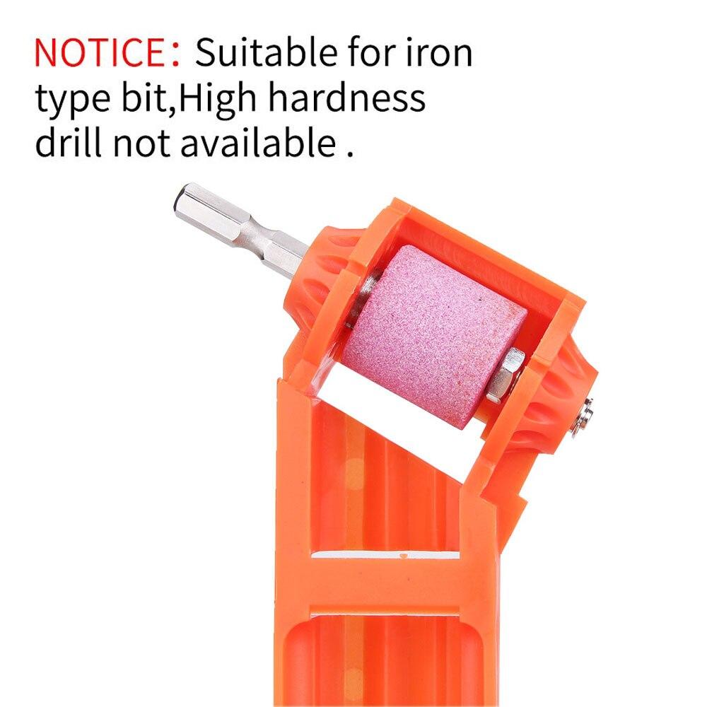 2-12.5mm Portable Corundum Grinding Wheel Drill Bit Sharpener Titanium Drill Portable Drill Bit Powered Tool Parts