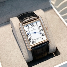 Reloj de lujo para hombre y mujer, gran oferta, femenino, informal, rectangular, de cuero