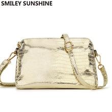 الصيف الجلود حقيبة ساعي المرأة حقيبة كتف الإناث الذهب حقائب صغيرة حقيبة كروسبودي للنساء 2020 السيدات حقائب اليد vintage