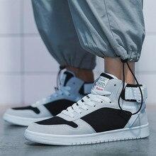 Fashion Sneakers Men's Casual Shoes Men Canvas Shoes High