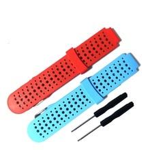 Replacement Silicone Watch Wrist Band Strap for Garmin Forerunner 235 630 230 GPS Watch Wristbands Bracelet Smart Accessories все цены