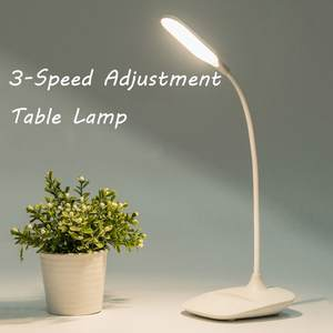 Table-Lamp Bed-Book Reading Flexo Wireless USB 3-Modes LED Touch -G7