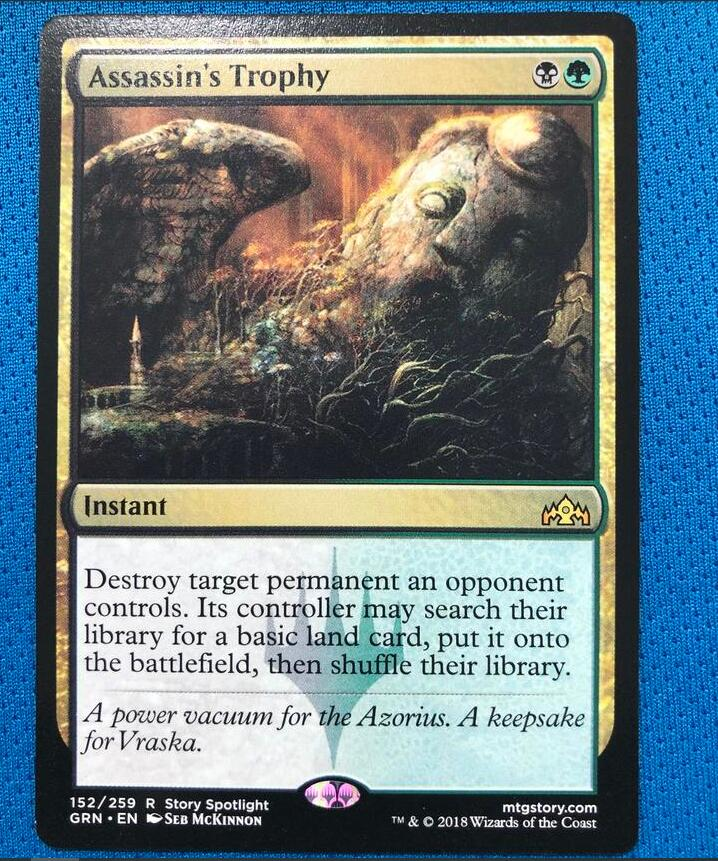 Assassin's TrophyGRN Hologram Magician ProxyKing 8.0 VIP The Proxy Cards To Gathering Every Single Mg Card.