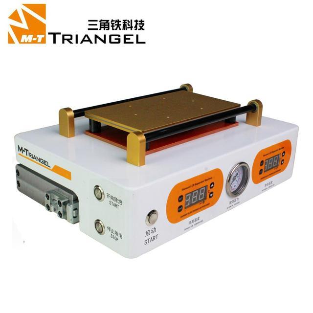 M Triangel สูญญากาศ Bubble Remover หน้าจอ LCD ระบบสัมผัสหน้าจอเครื่อง Max 7 นิ้วโทรศัพท์มือถือถอดชิ้นส่วนซ่อมเครื่องมือ