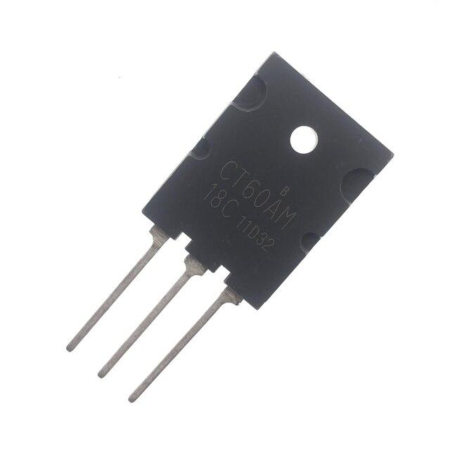 5 قطعة CT60AM 18F إلى 264 CT60AM 18B CT60AM 18C أو CT60AM 20 TO264 60A 900V معزول بوابة القطبين الترانزستور التوصيل المجاني
