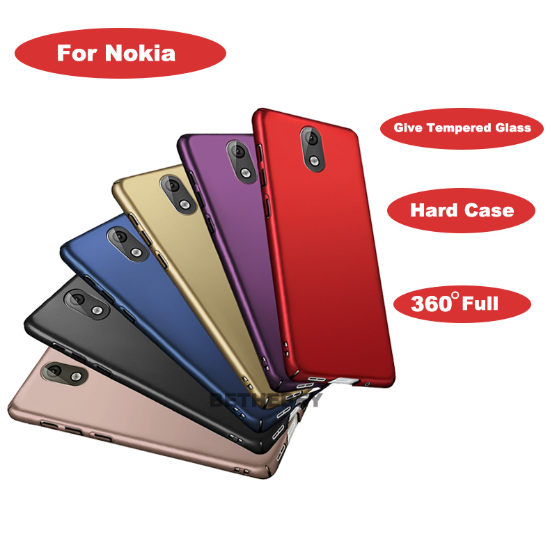 360 Degree Full Body Cover <font><b>Case</b></font> For <font><b>Nokia</b></font> <font><b>6.1</b></font> <font><b>Case</b></font> With Tempered <font><b>Glass</b></font> For <font><b>Nokia</b></font> 3.1 Magnetic Shockproof Hard <font><b>Case</b></font> shell Phone image