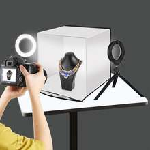 Портативный софтбокс puluz 30*30 см светильник тбокс для студии