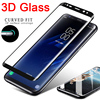3D Curved Tempered Glass for Samsung Note 8 9 10 Note 20 Ultra Screen Protector for Samsung S8 S9 Plus S10 S20 S21 Ultra Glass