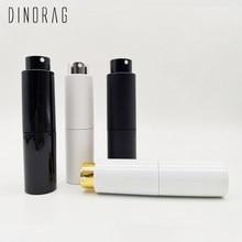Dinorag 20ml spray frasco perfume recarregável recipiente de armazenamento de vidro perfumes portáteis cosméticos viagem vazio garrafa logotipo personalizado