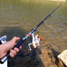 GHOTDA-canne à pêche télescopique Portable en Fiber de carbone, super dure, 1.8M, 2.1M, 2.4M, 2.7M, 3.0M, 3.6M
