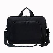 Портфель сумка 15,6 дюймов ноутбук сумка-мессенджер сумка черный бизнес офис сумка компьютер сумки простой плечо сумка для мужчин женщин