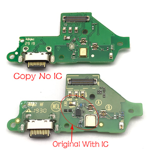 Image 2 - Original New USB Charging Port Connector Board With Mic Microphone For Moto One Vision Fusion Action Marco Hyper Power G30