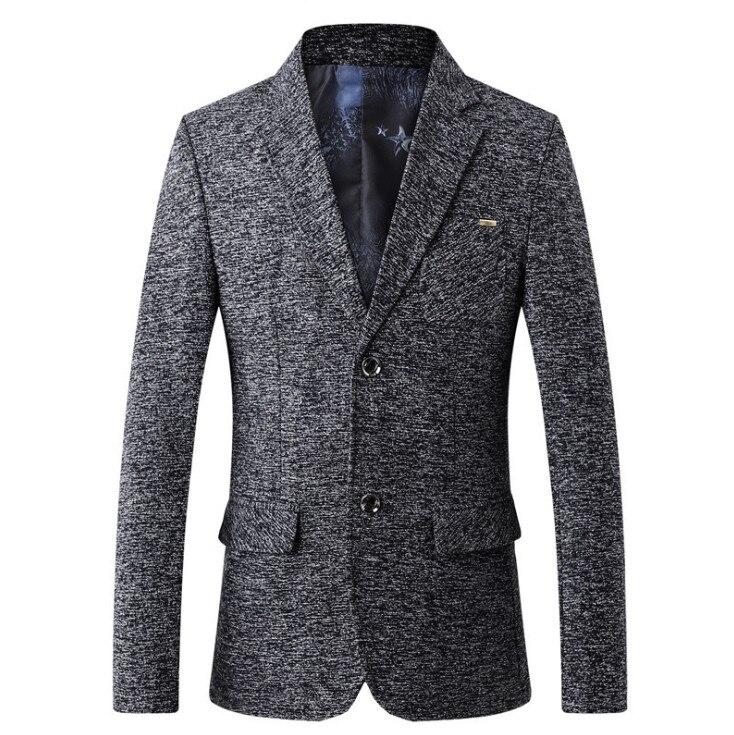 Fashion Business Men Suit Jackets Men's Suit Jackets Spring Autumn Slim Fit Suit Blazer New Male Casual Blazers