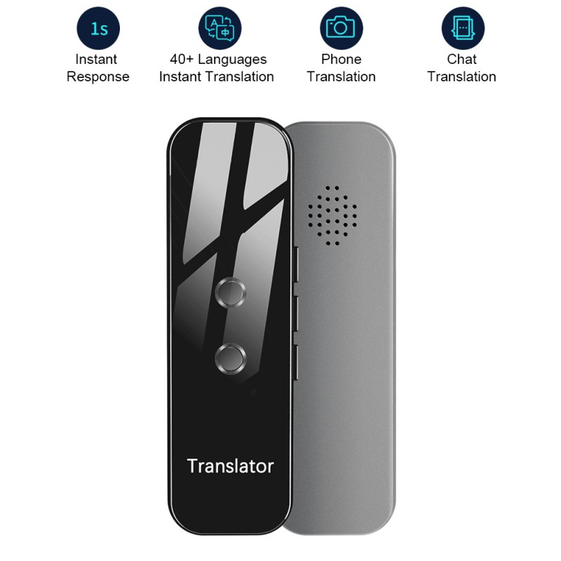 G6 Newest Smart Voice Translator Device Electronic Portable 3 In 1 Voice/Text/Photographic Bluetooth Language Translator