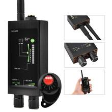 Wireless RF Bug Signal Radio Detector Scanner GPS Tracker Finder Automatic Detection for Checking Laser Eavesdropping Device