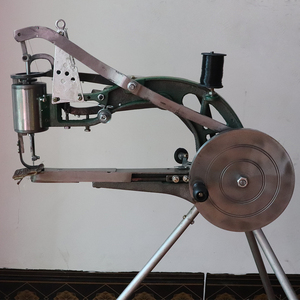 Image 4 - Manual Shoe Sewing Machine  Double cotton nylon thread leather Shoemaker manual sewing tools Shoe sewing machine