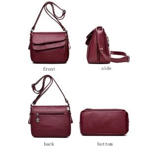 Image 4 - Sacs à Main de luxe en cuir pour femmes, sacoches à épaule de bonne qualité, sacs de styliste, offre spéciale 2019
