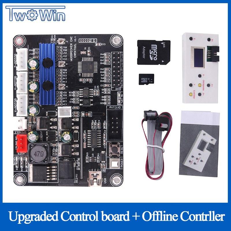 Eixo controlador offline 3 bordo, GRBL porta USB placa de controle da máquina de gravura do cnc para 1610,2418, 3018 da máquina