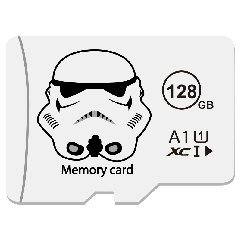 Bilgisayar ve Ofis'ten Mikro SD Kartları'de Sınıf 10 siyah hafıza kartı 4GB 8GB 16GB 32GB mikro sd kart 64GB Tarjeta microsd 32 gb Mini flash sürücü TF kart title=