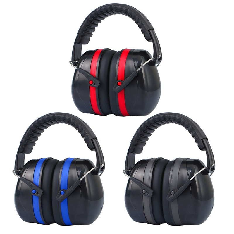 Anti-Noise Head Earmuffs Foldable Ear Protector SNR-35dB For Kids/Adults Study Sleeping Work Shooting Hearing Safe Protection