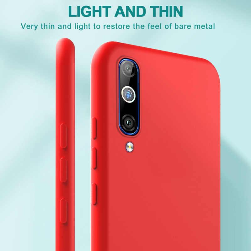 for Xiaomi Mi 9 Case Original Silicone Soft Protection Cover for Xiaomi Mi 9 8 SE 9T A3 Lite Case Redmi Note 8 7 6 5 Pro 7A Case