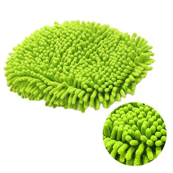 New High Quality Car 360 Degree Spin Wet Mop Head,Microfiber Auto Cleaning Mop Head Refill for Car and Home Clean Tools vileda easy wring and clean turbo microfibre 2in1 replacement refill mop head accessory home cleaning tools