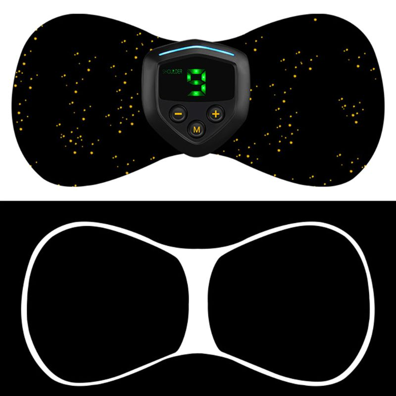 Electric Mini USB Low Frequency Current Pulse Massager Pads For Arm Legs Massage Q0KD