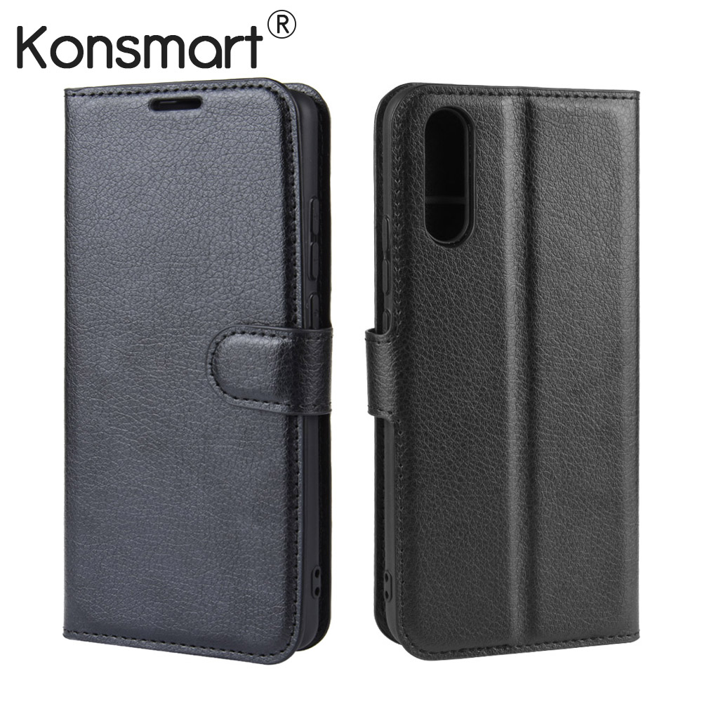 KONSMART 2019 Book Case Vivo V17 Neo Y17 Y15 Y12 Flip Leather Phone Cover For Vivo Z1 Pro Z5 Z5X Protective Cases