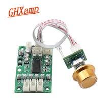GhxampトーンコントロールパネルプリアンプDC12Vプリアンプ (ボリューム + 高音 + 低音 + 3 ウェイオーディオ入力スイッチ) デジタル制御